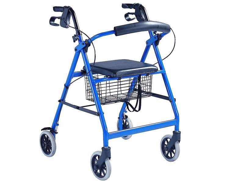 4 Wheel Walker with seat
