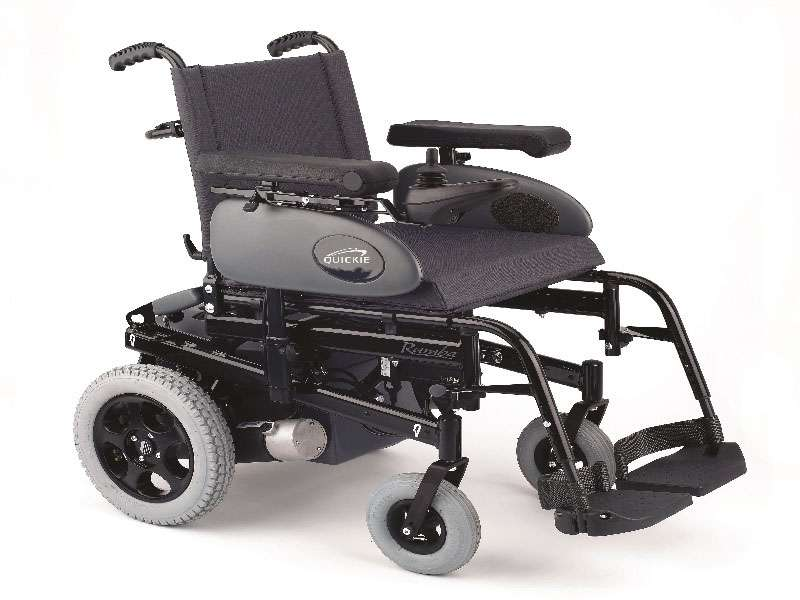 Rear Control Electric Assisted Manual Chair