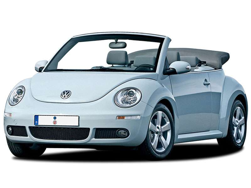 VW. Beatle Cabrio o similar