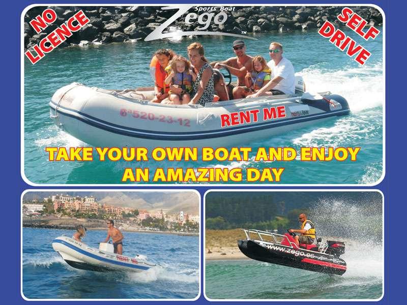 Zego Boat Tenerife