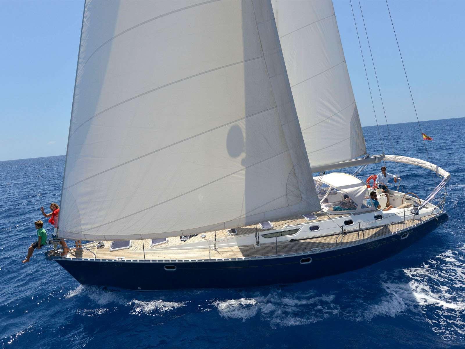 Blue Jack Sail