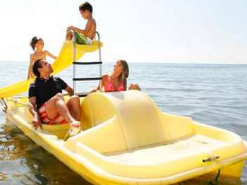 Pedal boats Tenerife