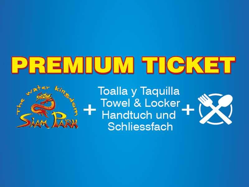 Siam Park Premium Ticket