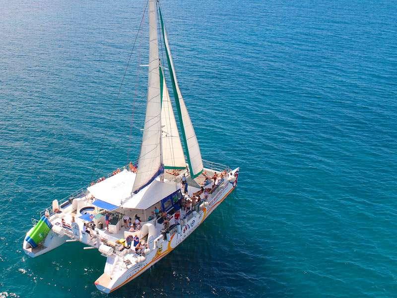 Catamaran - I Love La Graciosa