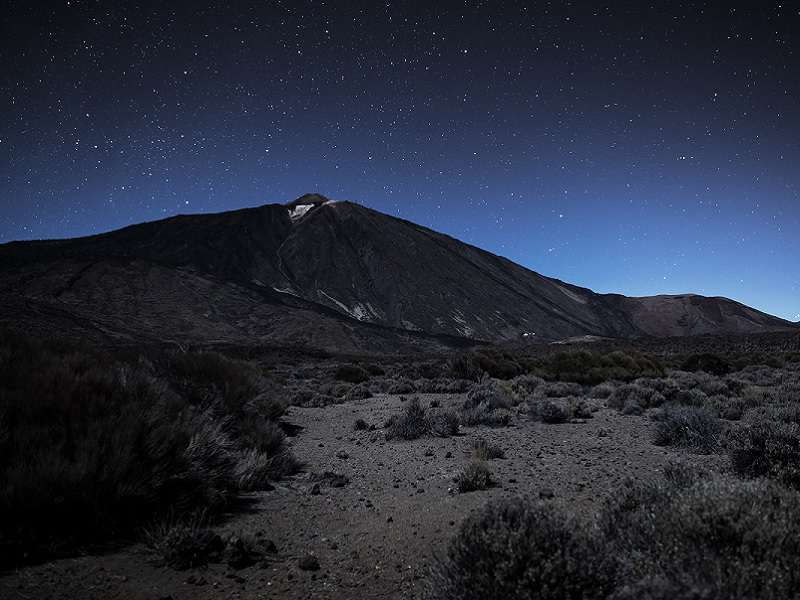 Teide by Night