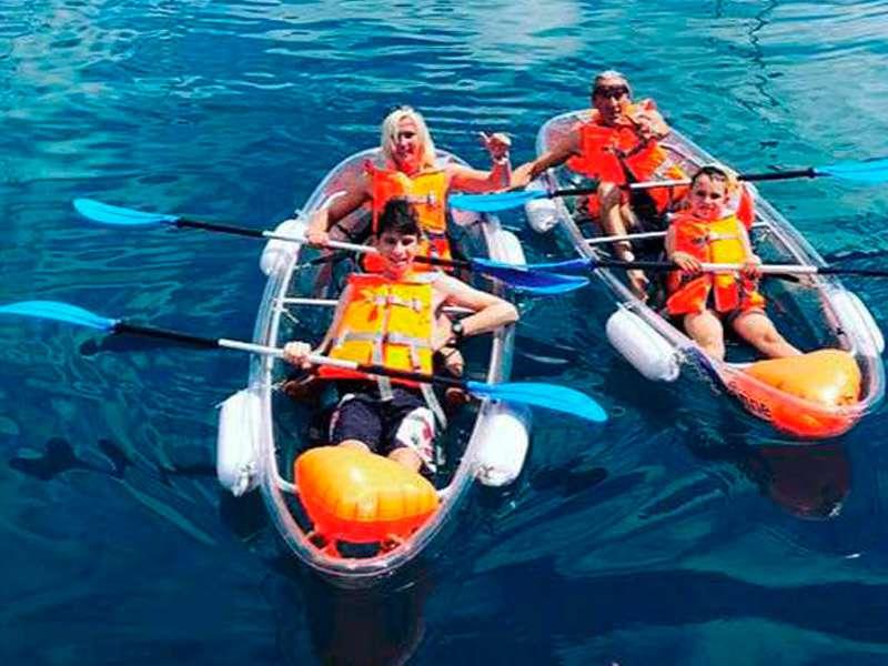 Kayak trasparente A.C.E