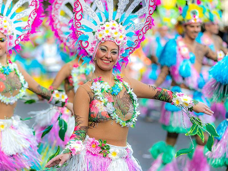 Carroza VIP en Gran Coso del Carnaval