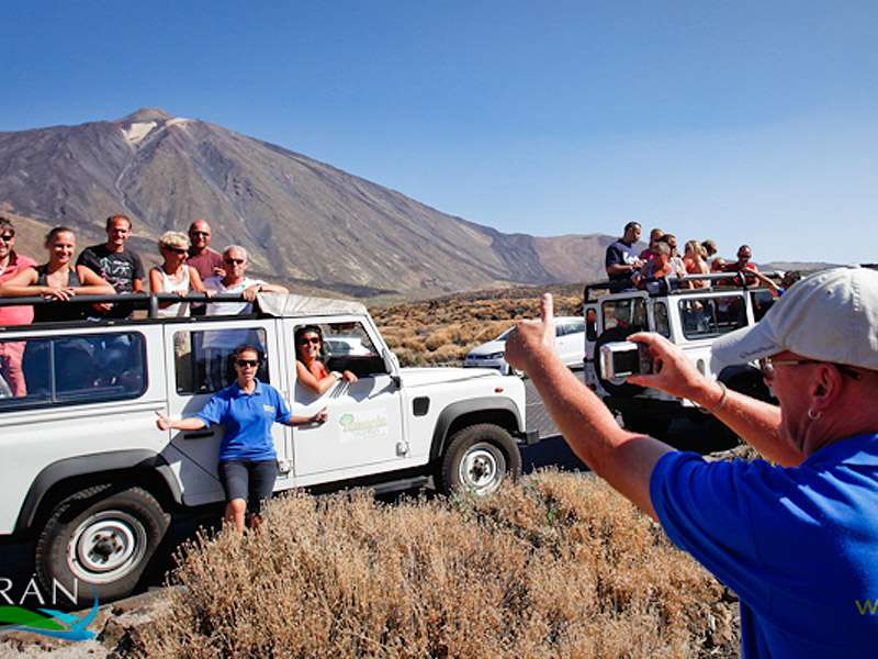Jeep Safari Teide Half Day